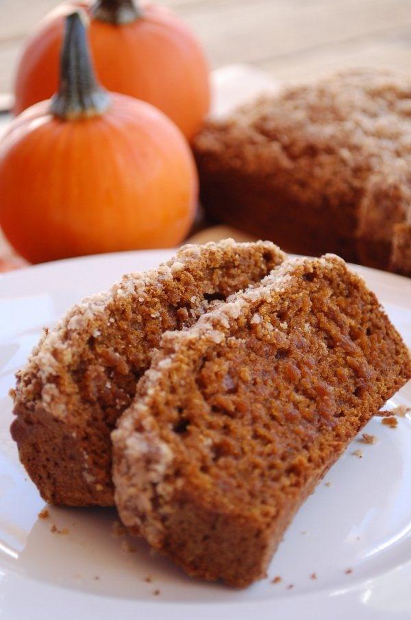 Gluten Free Pumpkin Spice Gingerbread.