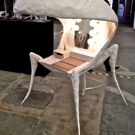 Carlos Mate's The Flowers of Evil dressing table. Milan Design Week 2012