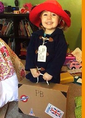This Mighty Girl costume takes the cake: Paddington Bear