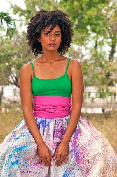 Clara Luce Lafond - Bel Tet Gren (trans. Haitian Creole beautiful kinks) on Facebook - Miss Haiti 2013