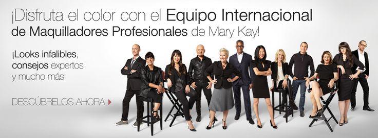 Descubre los looks de maquilladores profesionales Mary Kay
