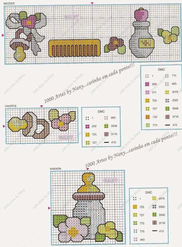 1000 Artes: Fraldinhas - Pto Cruz
