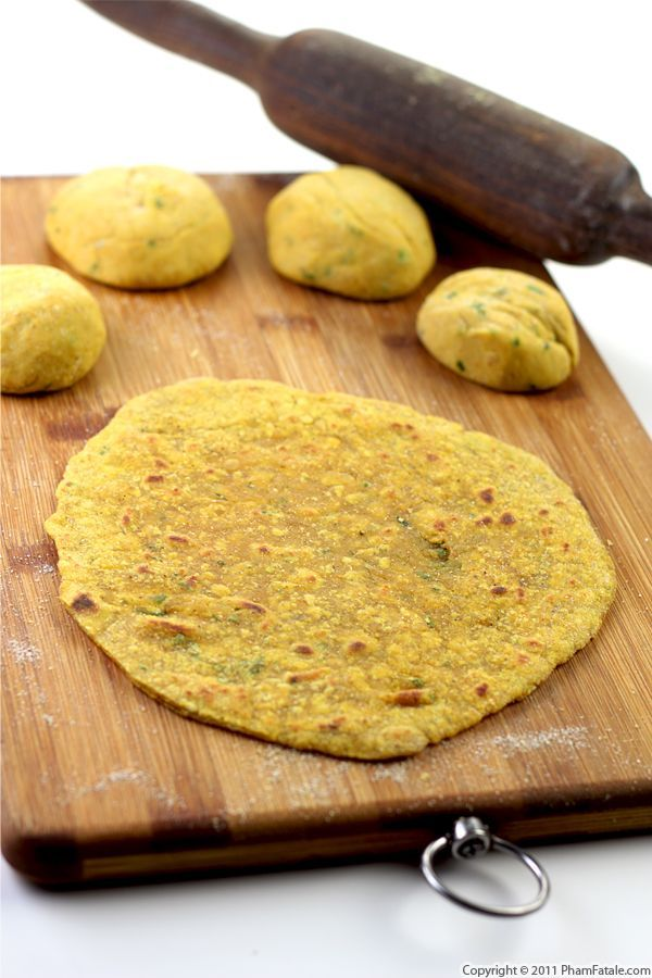 Dal Paratha Recipe (Indian Flat Bread)