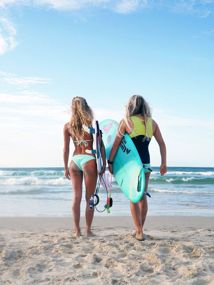 Surf girls... Be Different www.warriorsproject.it