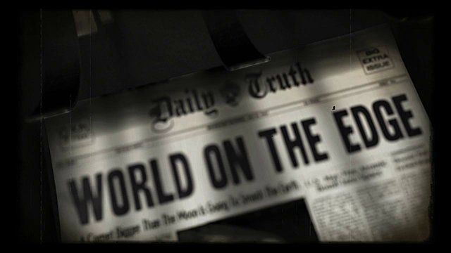 Nombre: Bad News - Media Fiction (diplom) Autores: Nico Uthe and Bastian Bohm   ¿Es posible que la exclamación del fin del mundo sea capaz de provocar el apocalipsis? La película plantea la cuestión de qué consecuencias podrían ser causados por información y noticias. La metáfora es una especie de persiflage exagerada: sólo el mensaje del Apocalipsis hace que el fin del mundo sea una profecía autocumplida causada por los medios de comunicación…