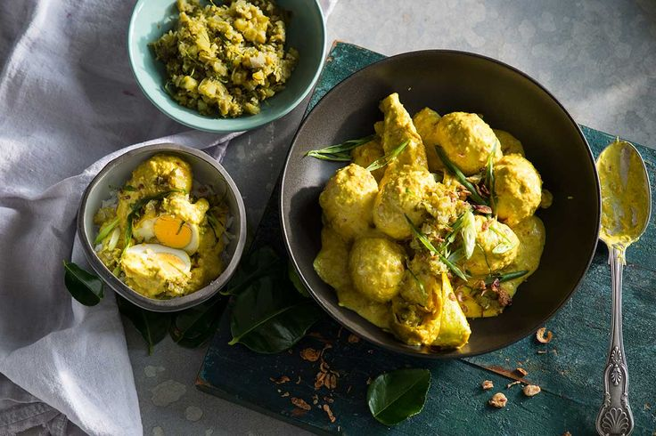 A green sambal is the finishing touch in this vibrant Sumatran egg curry