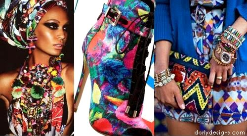 Top Fashion Accessory trends, Prints, colours materials and styles forecast and predictions Spring Summer 2015 Photo Courtesy: Design Options #DORLYDESIGNS: Fashion Accessories Gone Wild: Hot Styles And Prints S/S 2015