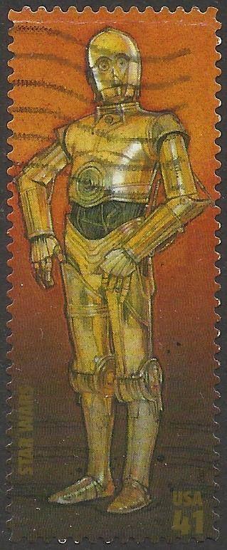 US Stamp 2007 - Star Wars: