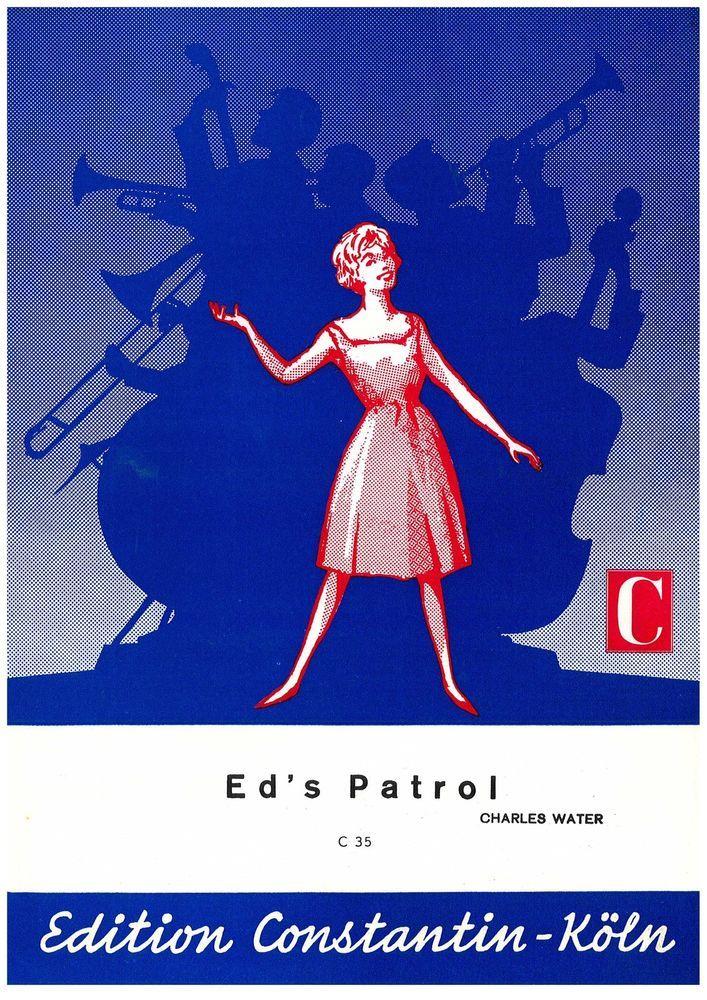 CHARLES WATER - ED'S PATROL - 1962 - MUSIKNOTE KLAVIER / KEYBOARD SOLO