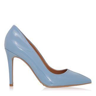 Pantofi dama jeans 2065 piele lacuita