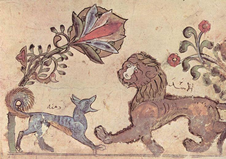 "Illustration pour ""Kalila wa-Dimna"" manuscript 1200–1220"