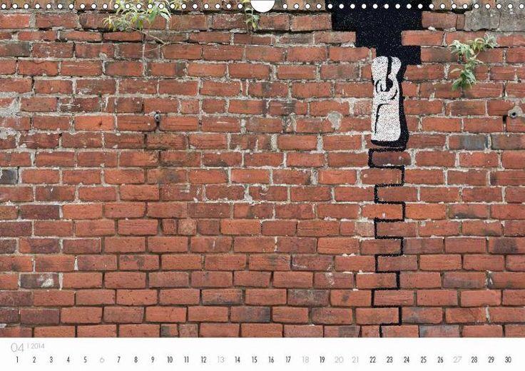 Street Art by sooq – unter diesem Pseudonym zeigt dieser Kalender auf 12 Seiten Schablonen-Graffiti auf Flächen des urbanen Raums. Teils witzig, teils hintergründig und gerne mit vorhandenen Rissen, Mauerwerk und Pflanzen spielend, überrascht sooq die Passanten mit urbaner Kunst, wie sie inzwischen in allen Metropolen Europas und der USA zu sehen ist. - http://www.calvendo.de/galerie/street-art-by-sooq/?tracking=17