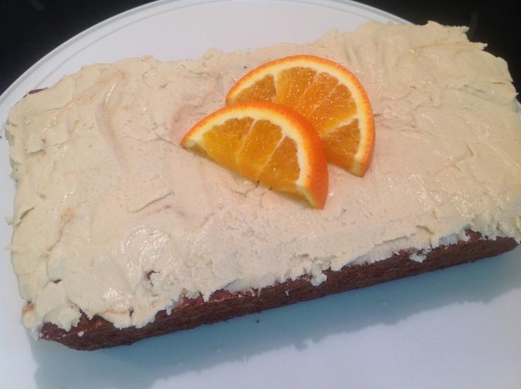 Orange Bread with Sweet Orange Frosting   Desserts   Pinterest