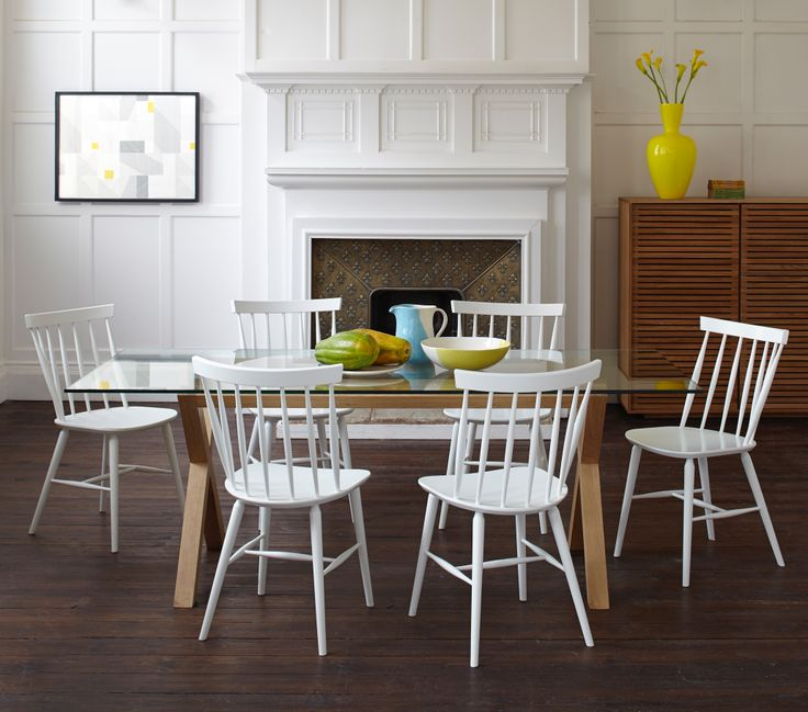 Talia Dining Chairs Are A Contemporary Design Based On The Classic Spindle Leg