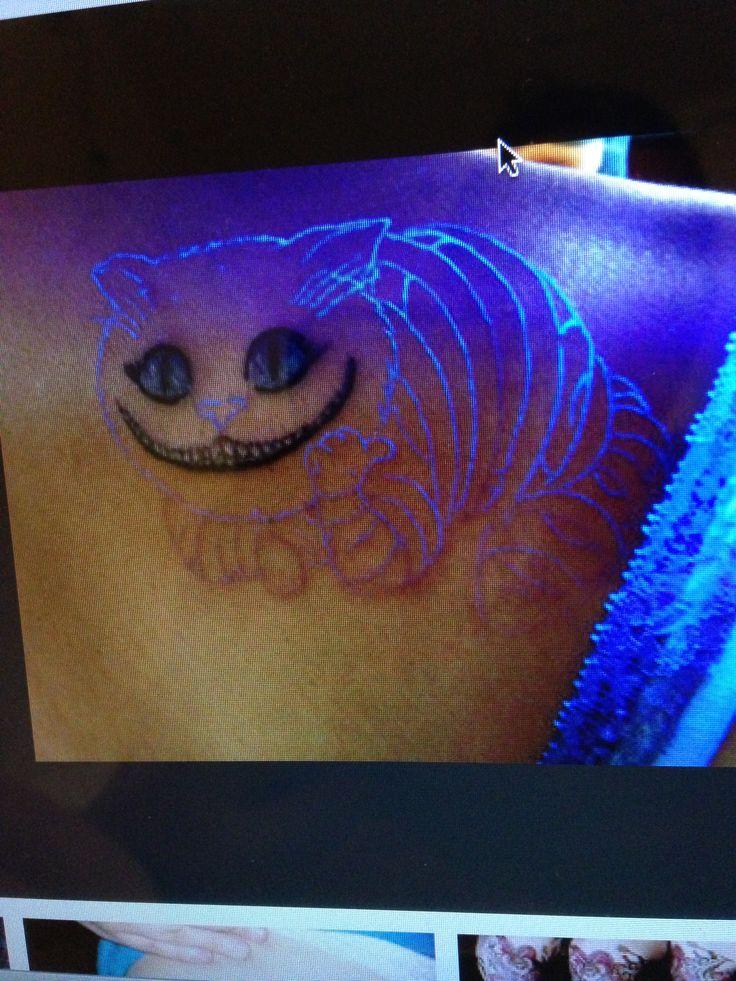Cheshire cat is that a blacklight tattoo disney