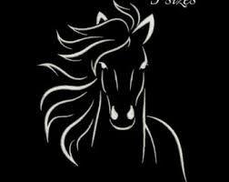 Image result for sagoma cavallo per inviti
