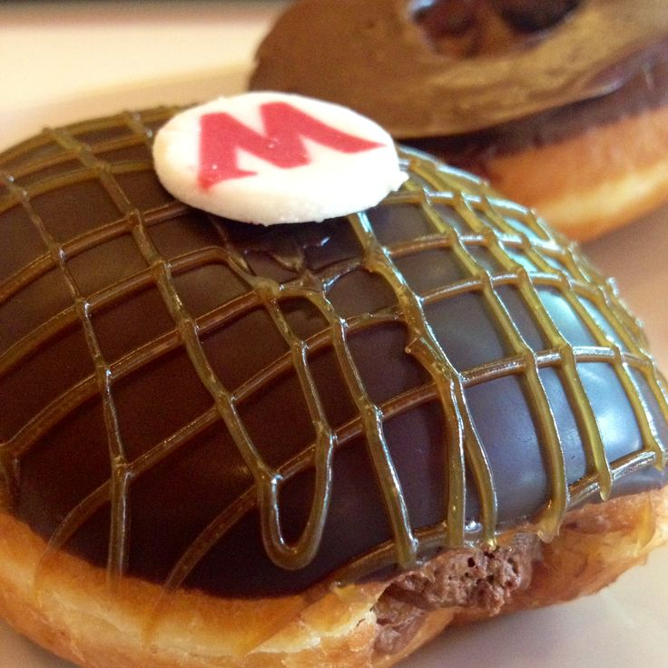 Mars premium chocolate doughnuts for my aftie snack!