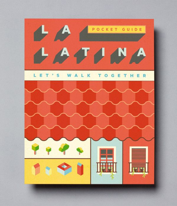 La Latina · Madrid map on Behance