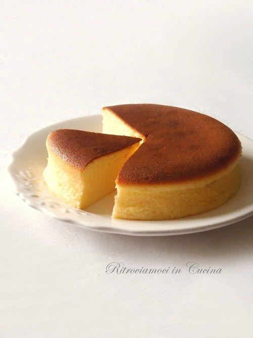 Dolci - Japanese Cotton Cheesecake, da provare con lo sciroppo d'acero!