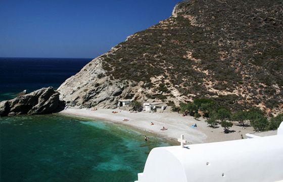 Agios Nikolaos, Folegandros, Greece