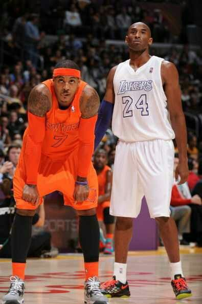 online store 7247a cb837 Carmelo Anthony in a Christmas Day NBA match up between the New York Knicks  and the LA Los Angeles Lakers