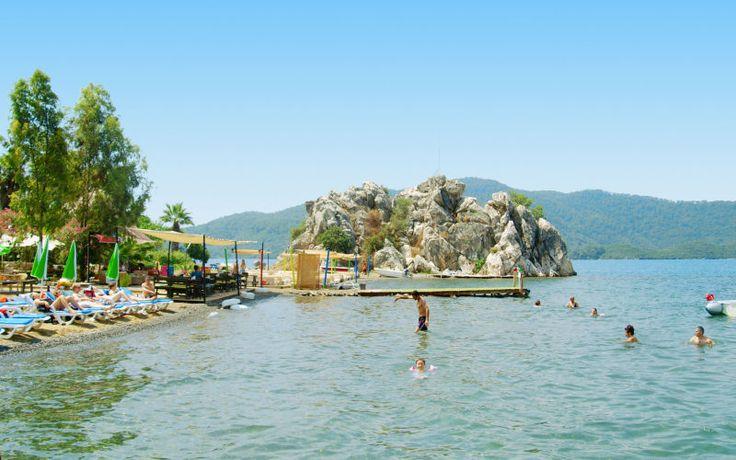 Børnevenlige strande i Tyrkiet. Se mere på http://www.apollorejser.dk/rejser/europa/tyrkiet