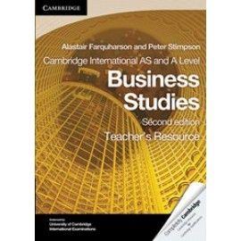 9780521126939, Cambridge International AS and A Level Business Studies: Teacher's Resource CD-ROM