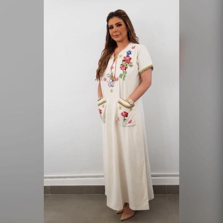6 417 Curtidas 134 Comentarios Sarahdundarawy سارة دندراوي Sarahdundarawy No Instagram Ramadan Mood Short Sleeve Dresses Dresses With Sleeves Fashion