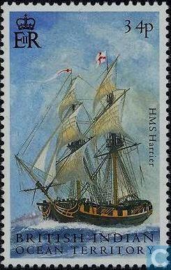 British Indian Ocean Territory - Battle of Trafalgar 2005