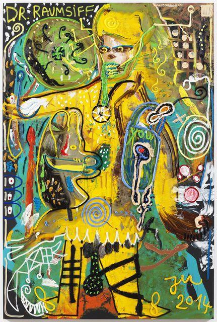 JONATHAN MEESE http://www.widewalls.ch/artist/jonathan-meese/ #contemporary  #art