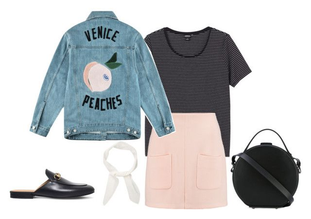 """""""Untitled #623"""" by szudi on Polyvore featuring Monki, See by Chloé, Être Cécile, Chloé, Gucci and Nico Giani"""