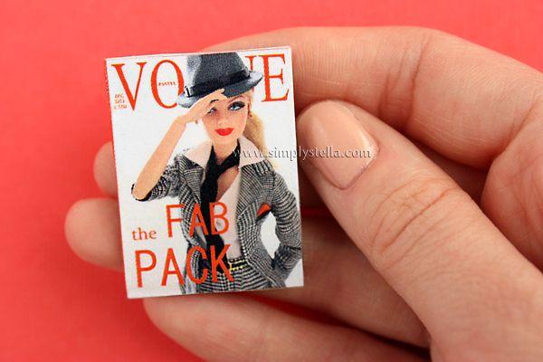 Free Magazine Printable: Vogue Pastel #2