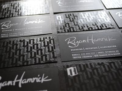 uv spot coating business cards