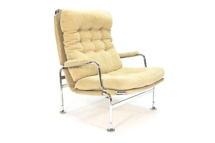 'Karin' Lounge Chair by Bruno Mathsson for DUX