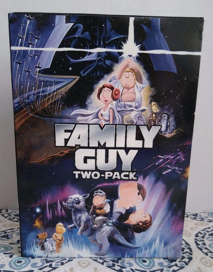Family Guy DVD Blue Harvest (2007) & Something Something Dark Side (2009) 2-Disc