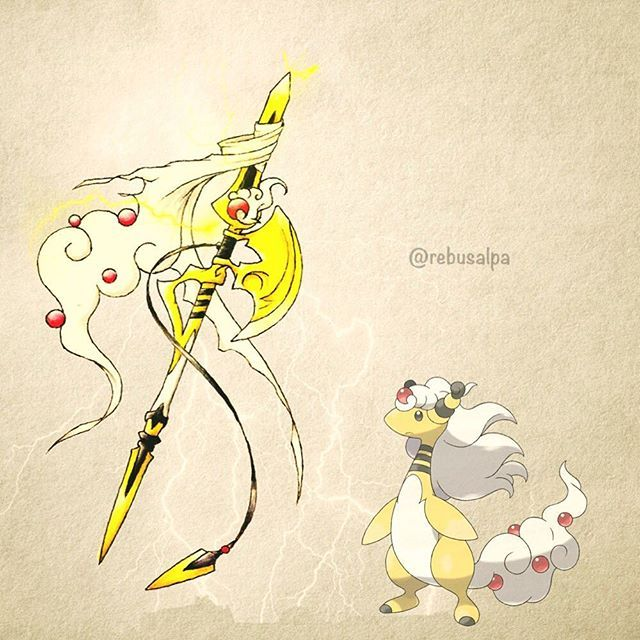 181 - Mega Ampharos Weaponized (Pokemon)