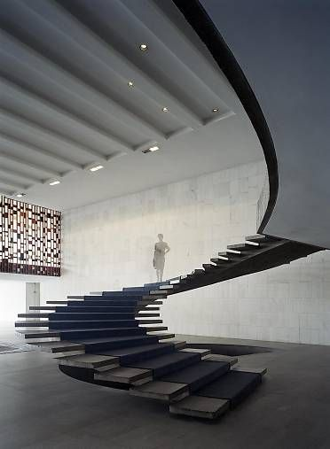Spiral Staircase Systems: Iconic Staircases #02 - Itamaraty Palace - Oscar Niemeyer