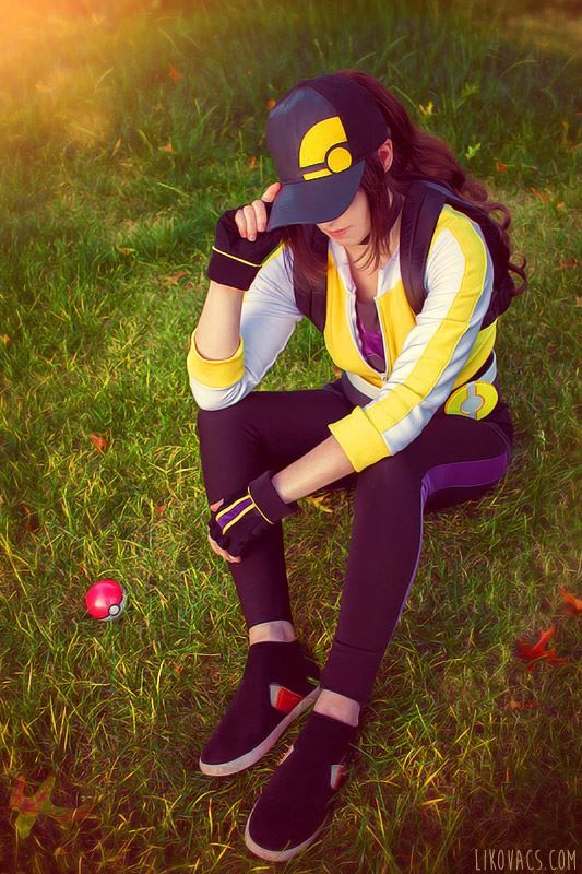 Pokemon Go trainer cosplay by Li Kovacs                                                                                                                                                                                 More