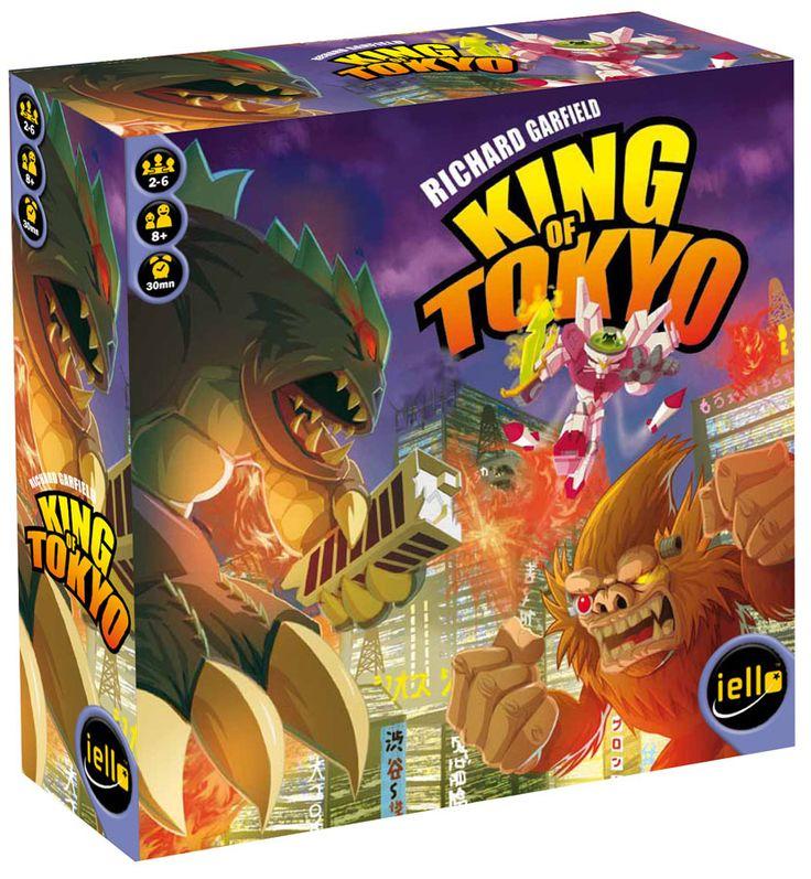 King of Tokyo Box Fun board games, Board games, Card games