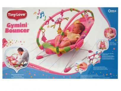 Cadeira de Balanço Tiny Princess Bouncer - para Crianças até 9kg - Tiny Love com as melhores condições você encontra no Magazine Ciabella. Confira!