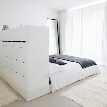 slaapkamer functioneel bed ia inspirerend wonen