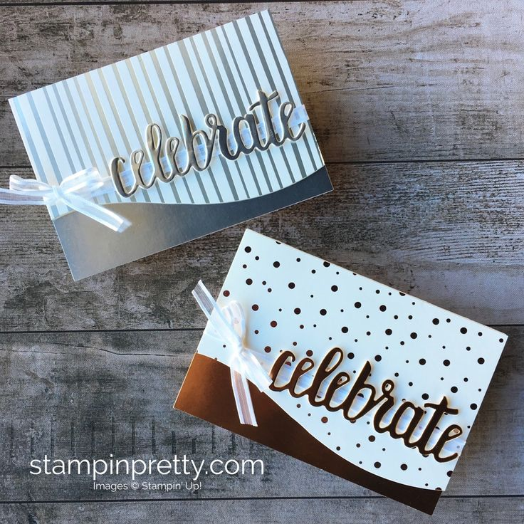 Silver Metallic Birthday Card Idea using Stampin Up Springtime Foil Specialty Designer Series Paper - Mary Fish StampinUp