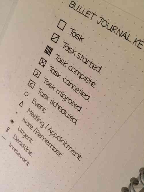 Não Perca!l Organize seu dia com o bullet journal - a forma mais fofa de planejar sua vida - # #organização #organizador