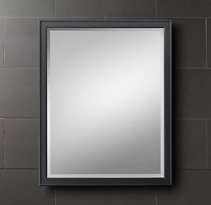Creative Our Master Bathroom Came With A Mirror Dilemma Instead Of Having The Traditional  Shape And Clean Look A Whopping $614 Cheaper Than This Similar Version From Restoration Hardware And All It Took To Hang It Was One Screw In The