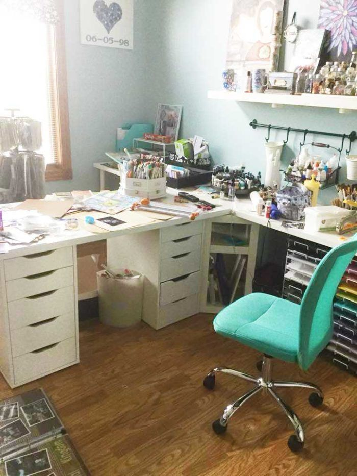 The Best Ikea Craft Room Tables And Desks Ideas Ikea Craft Room Ikea Crafts Craft Room Tables