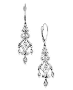 107 best Earrings - Crystal Clear images on Pinterest   Diamond ...