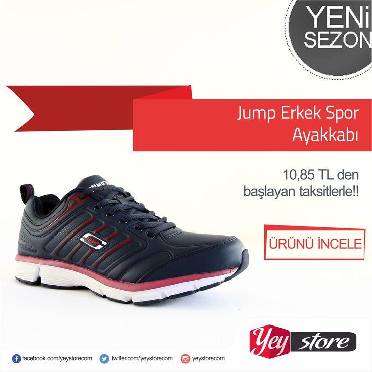 Jump spor ayakkabıları #yeystprecom da http://www.yeystore.com/#action=categoryList&parentId=177 #yeystore #uyguntaksit #uygunfiyat #jump #marka #sporayakkabı #spor #ayakkabı