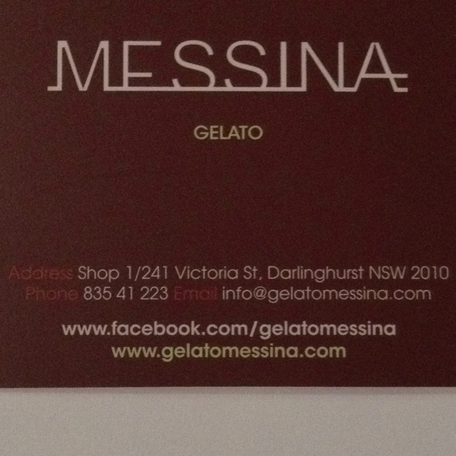 Messina: Possibly Sydney's finest ice cream