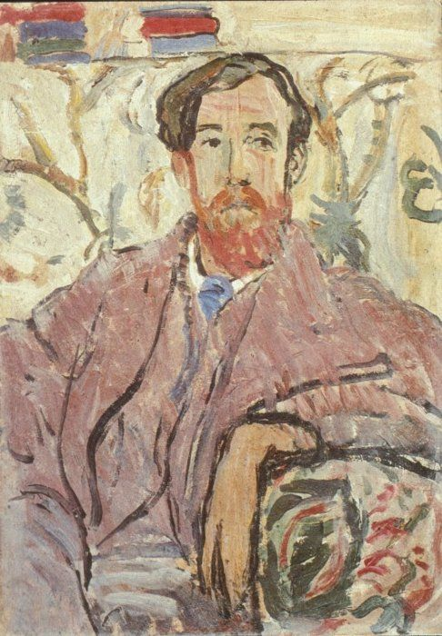 Lytton Strachey by Vanessa Bell, 1911.