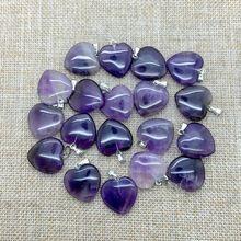 Vendita della fabbrica, cuore di pietra naturale gioielli ciondolo, pietra di…